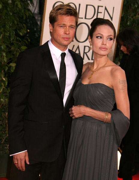 Angelina Jolie wearing Indian Inspired Jewelry